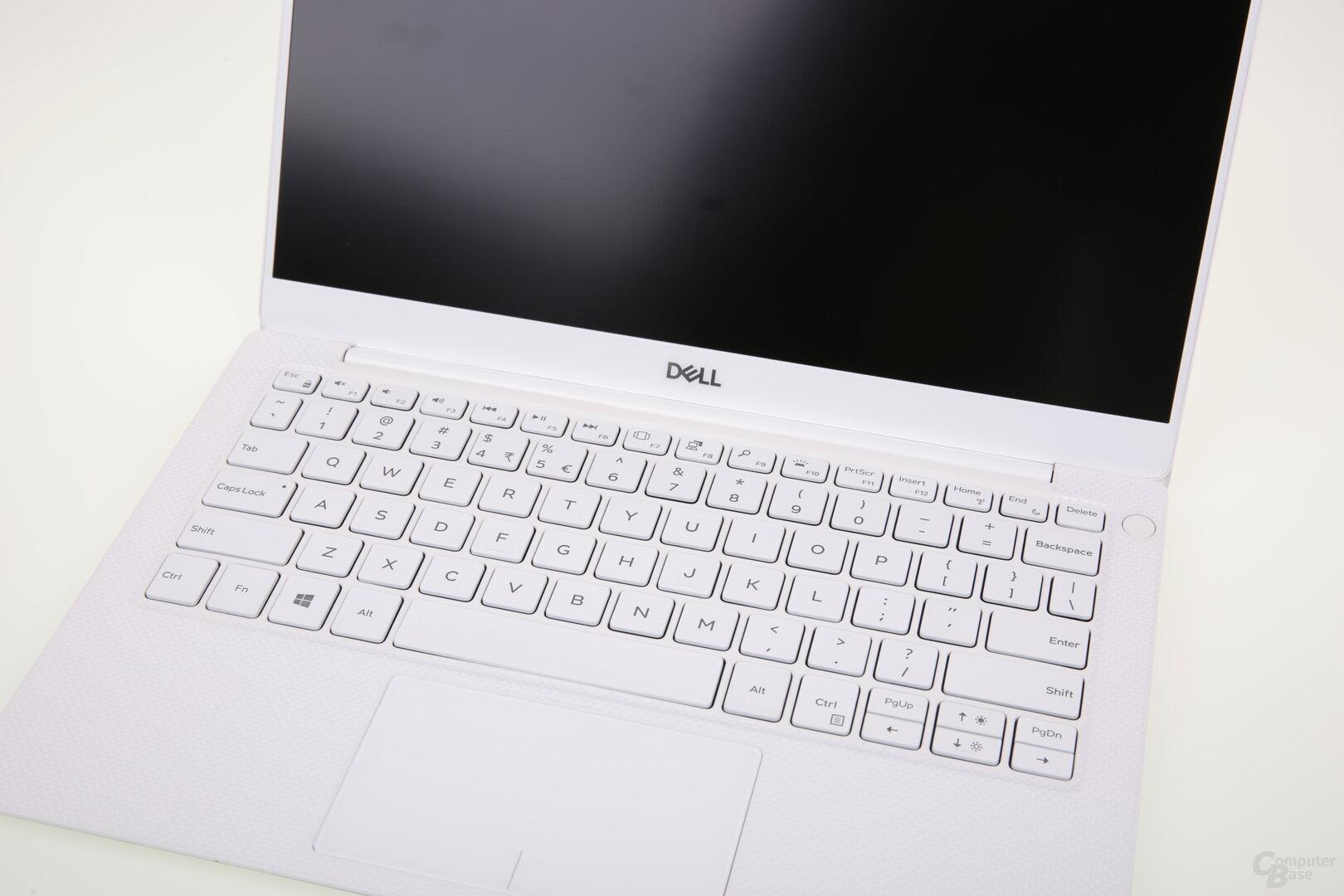 Bekannte Tastatur wie beim 9370 (hier mit QWERY-Layout)