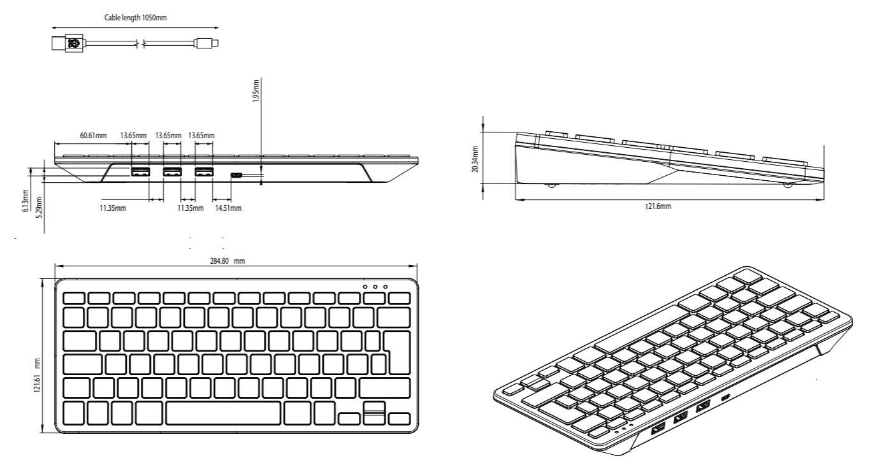 Raspberry Pi Tastatur