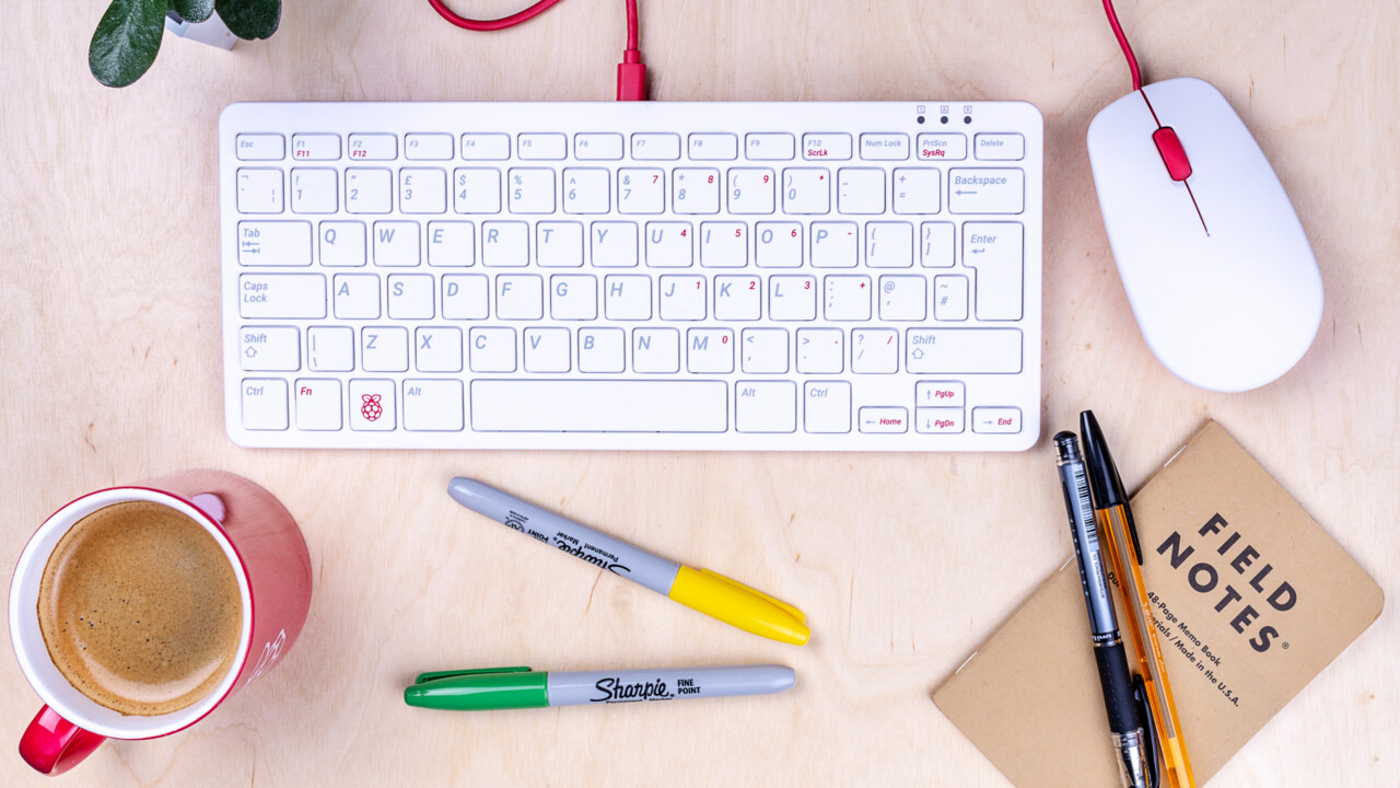 Maus und Tastatur: Offizielle Eingabegeräte passen zum Raspberry Pi