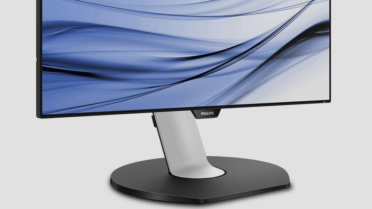 Philips P-line 329P9H: Büromonitor mit UltraHD, USB C und Gigabit‑LAN