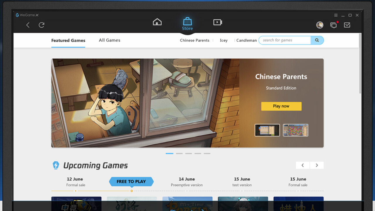 WeGame X: Tencents Steam‑Konkurrent startet auf Englisch