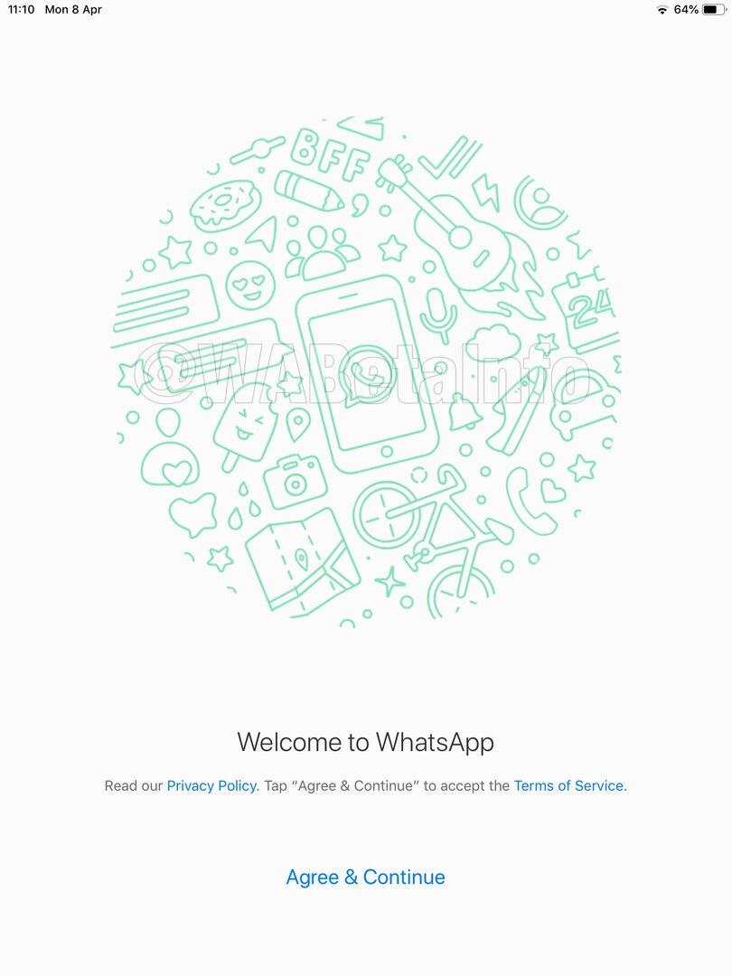 WhatsApp auf dem iPad