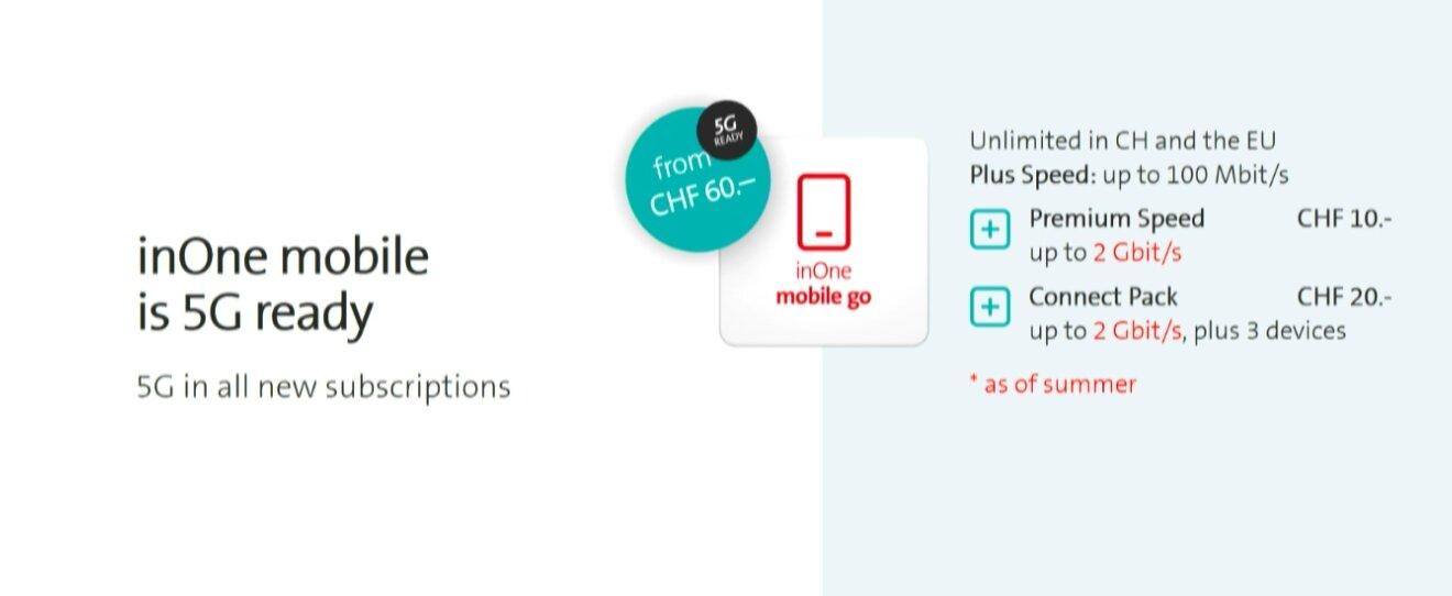 Erste Tarife von Swisscom