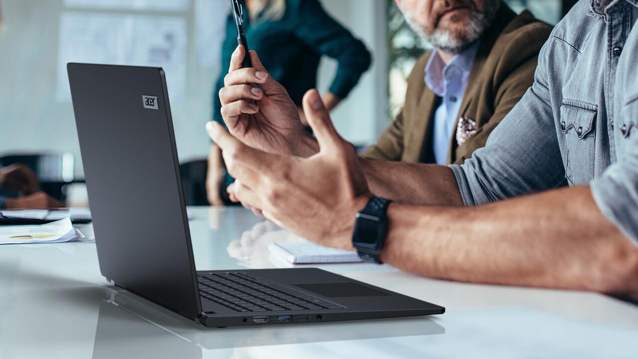 Acer TravelMate P614-51: Business-Notebook mit LTE und 20Stunden Laufzeit