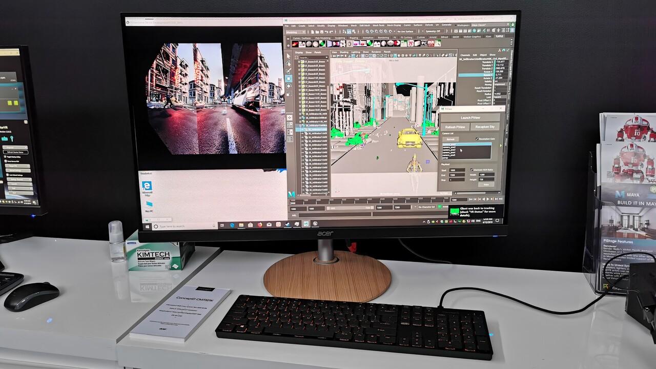 CM7321K & CP7271K: Acers Mini-LED-Monitor und farbtreuer Gaming-Profi