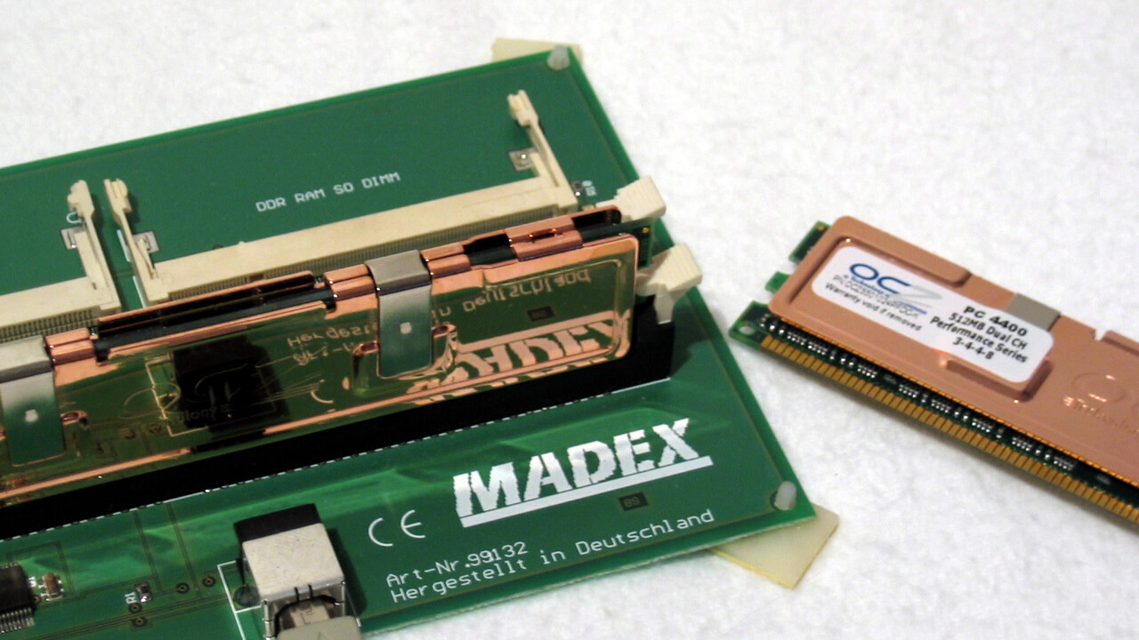 Im Test vor 15 Jahren: DDR550 von OCZ für Übertakter ab 400 Euro