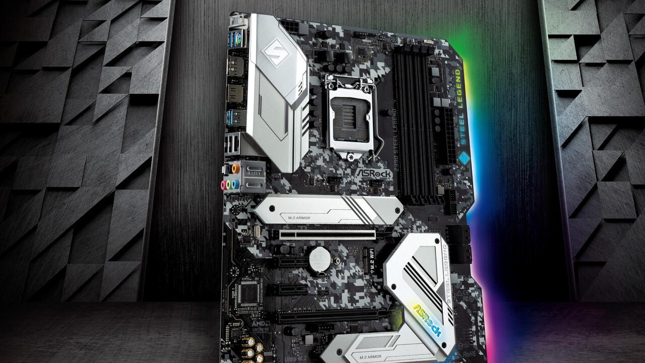 Z390 Steel Legend: ASRocks neue Mainboard-Linie auch für Intel-CPUs
