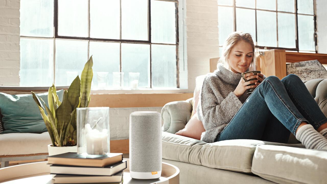 Smart Speaker L800HX: Gigaset kombiniert Alexa-Lautsprecher & DECT-Mobilteil