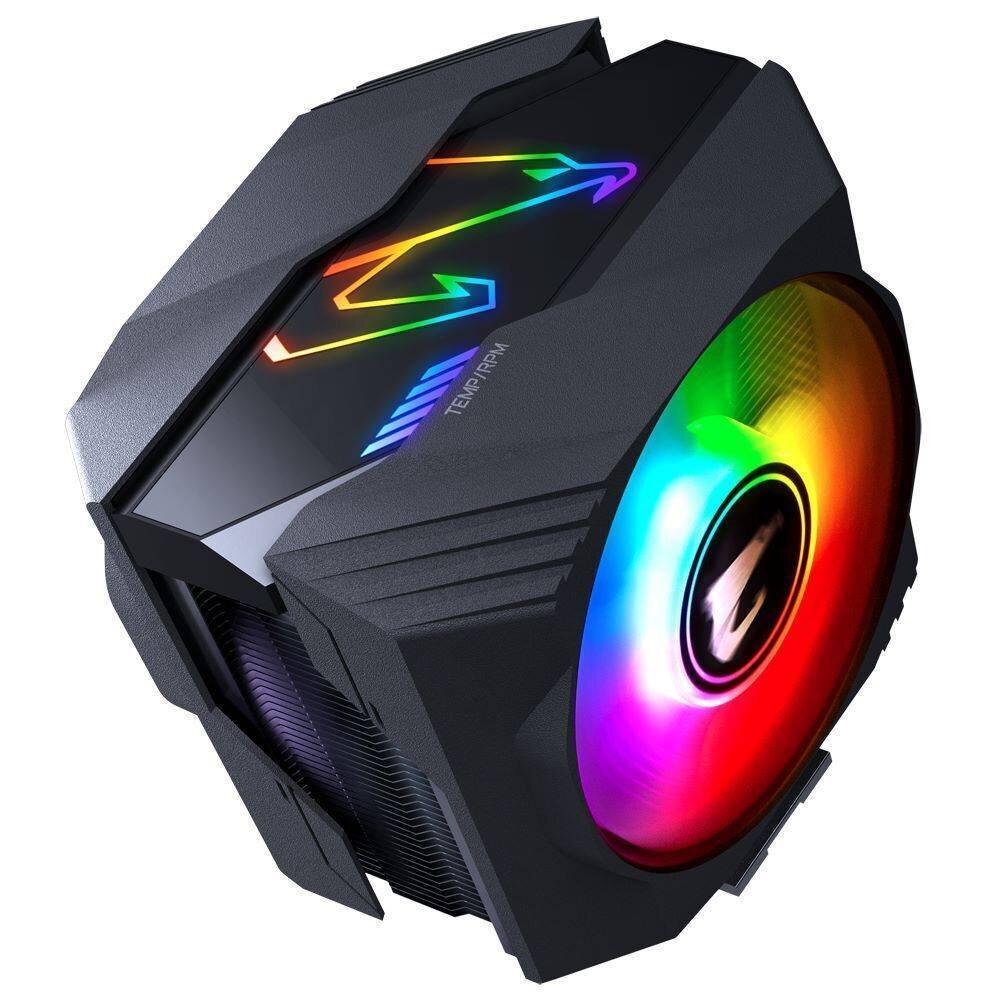 Gigabyte Aorus ATC800: Einfacheres Design leuchtet mehr und dezenter