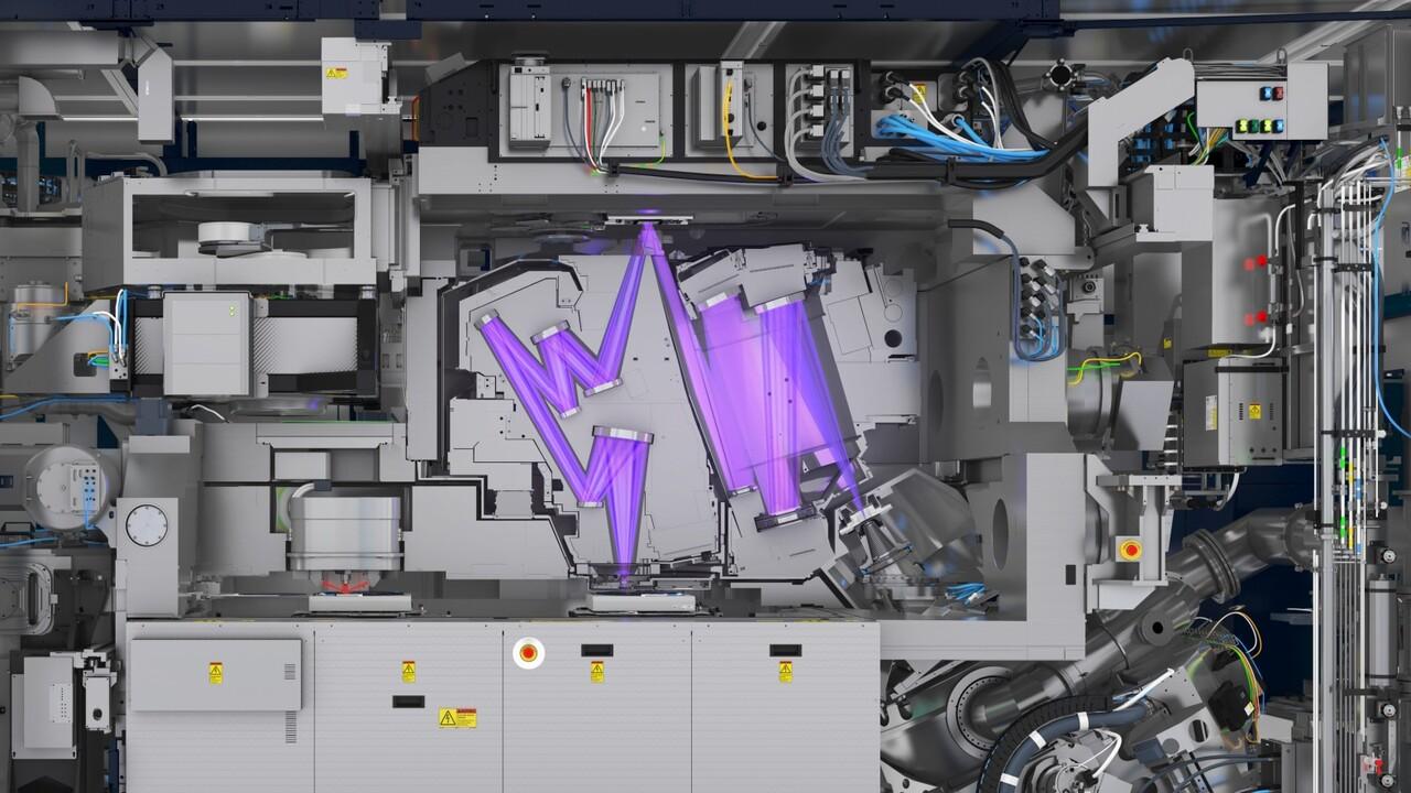 EUV-Lithografie: ASMLs neue Scanner schaffen bald 170 Wafer pro Stunde