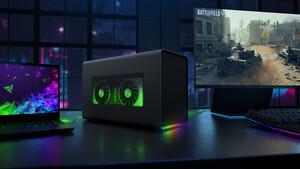 Razer Core X Chroma: Mehr Ports und RGB im eGPU-Gehäuse für 430 Euro