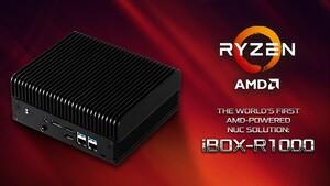 """ASRock iBox-R1000: Der erste """"NUC"""" mit AMD‑Prozessor"""