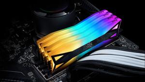Adata-DDR4-RAM: Beim XPG Spectrix D60G leuchtet 60 % der Fläche bunt