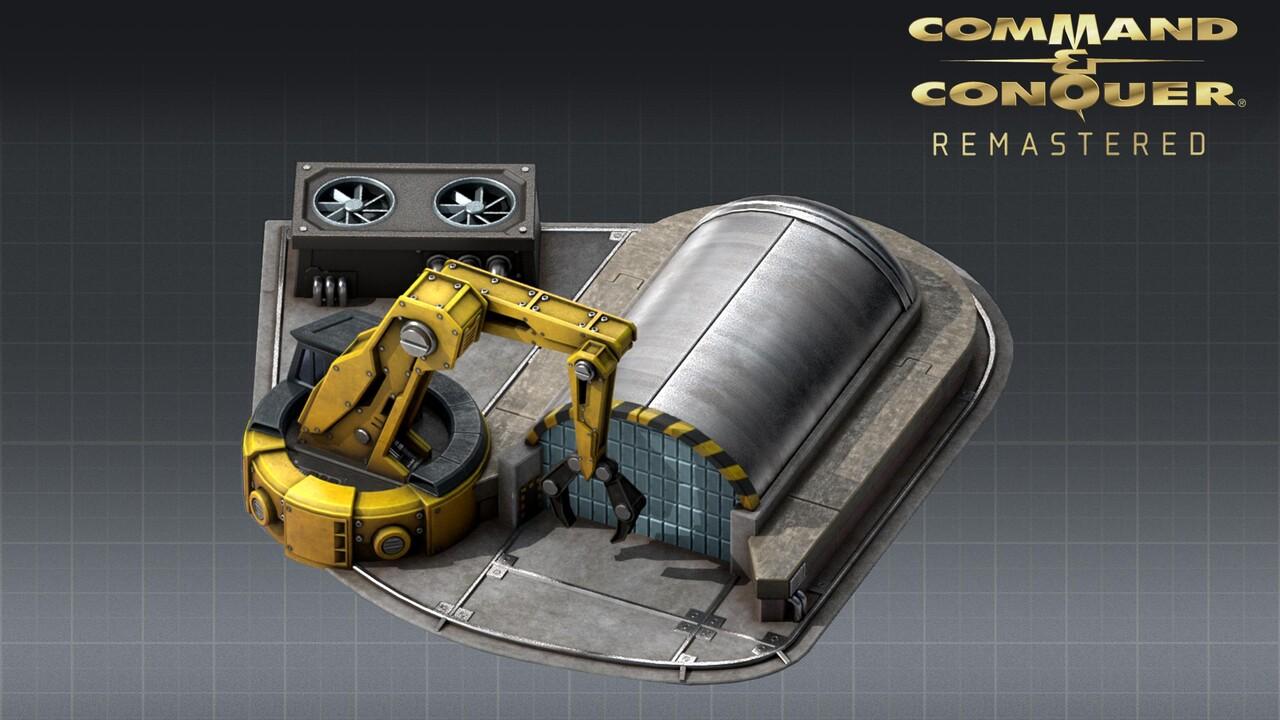 Command & Conquer: Bild zeigt neuen alten Bauhof aus dem Remaster