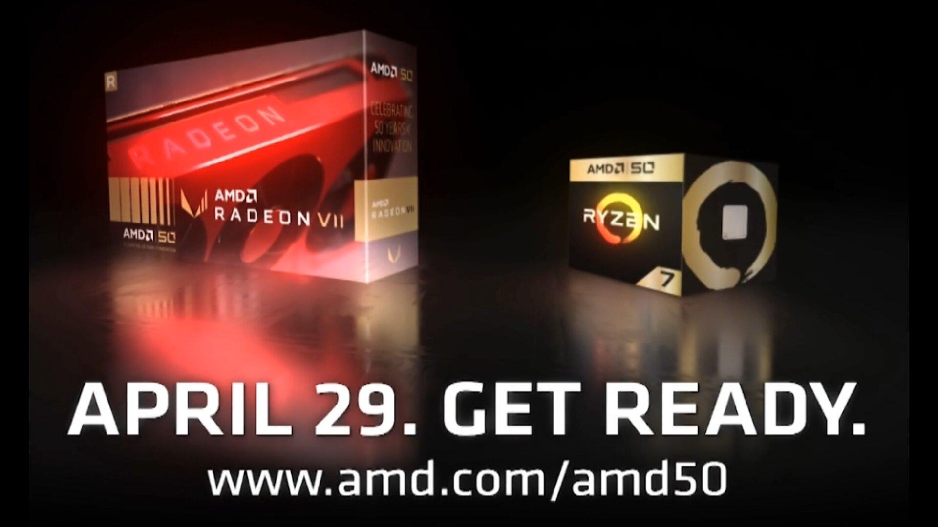 Zum 50. Geburtstag von AMD: Sonderedition von Radeon VII und Ryzen 7 2700X