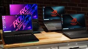 Neue ROG-Notebooks: Asus bietet AMD, Intel und Nvidia von klein bis groß an