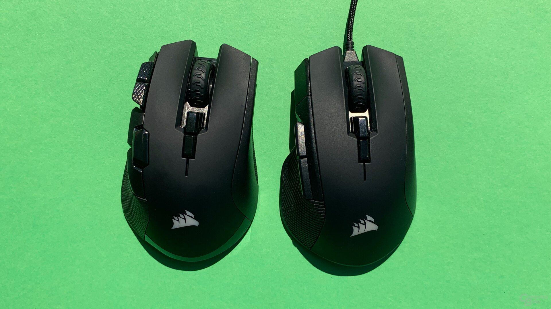 Corsair Ironclaw RGB Wireless und Ironclaw RGB