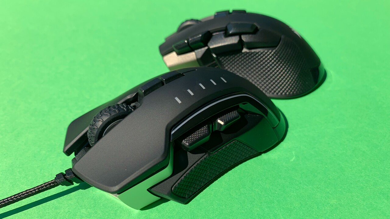 Gaming-Mäuse von Corsair im Test: Ironclaw RGB Wireless & Glaive RGB Pro