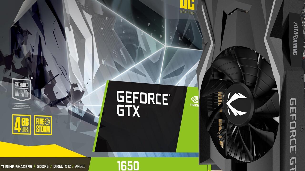 Nvidia GeForce GTX 1650: Die neueste Turing-GPU hat noch einen Volta-Encoder