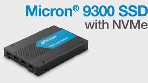 Micron 9300 NVMe SSD: Mehr Speicher, mehr Effizienz und niedrigere Latenzen