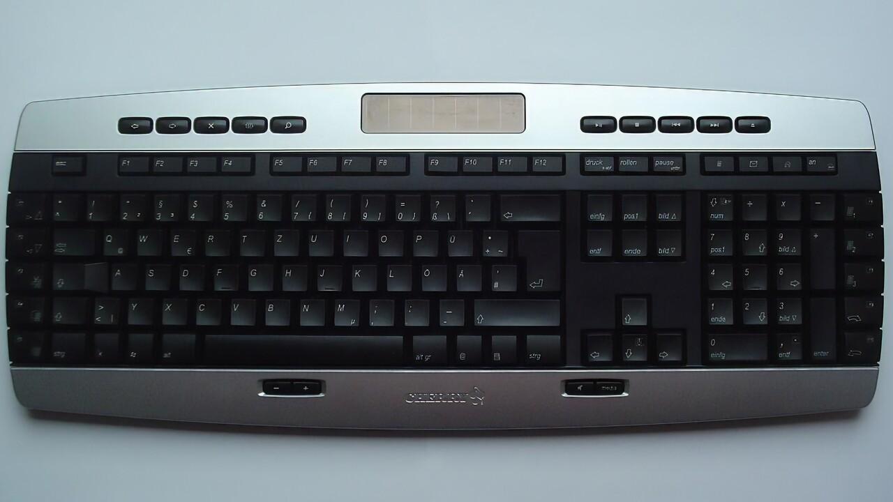 Im Test vor 15 Jahren: Funk-Tastaturen von Cherry bis Microsoft