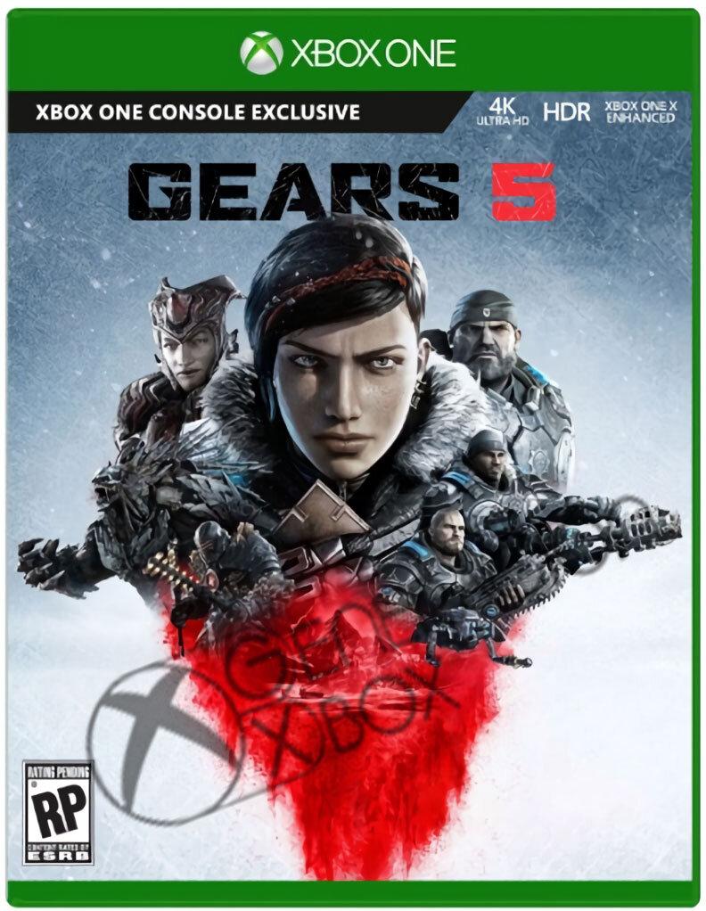 Das Cover von Gears 5 verrät die Protagonisten
