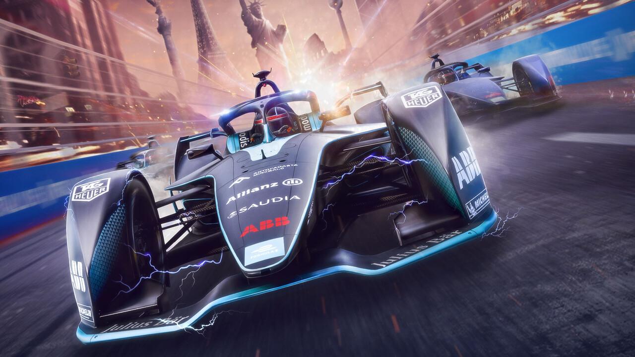 Ghost Racing: Formula E: Spieler können echtem Live-Rennen virtuell beitreten