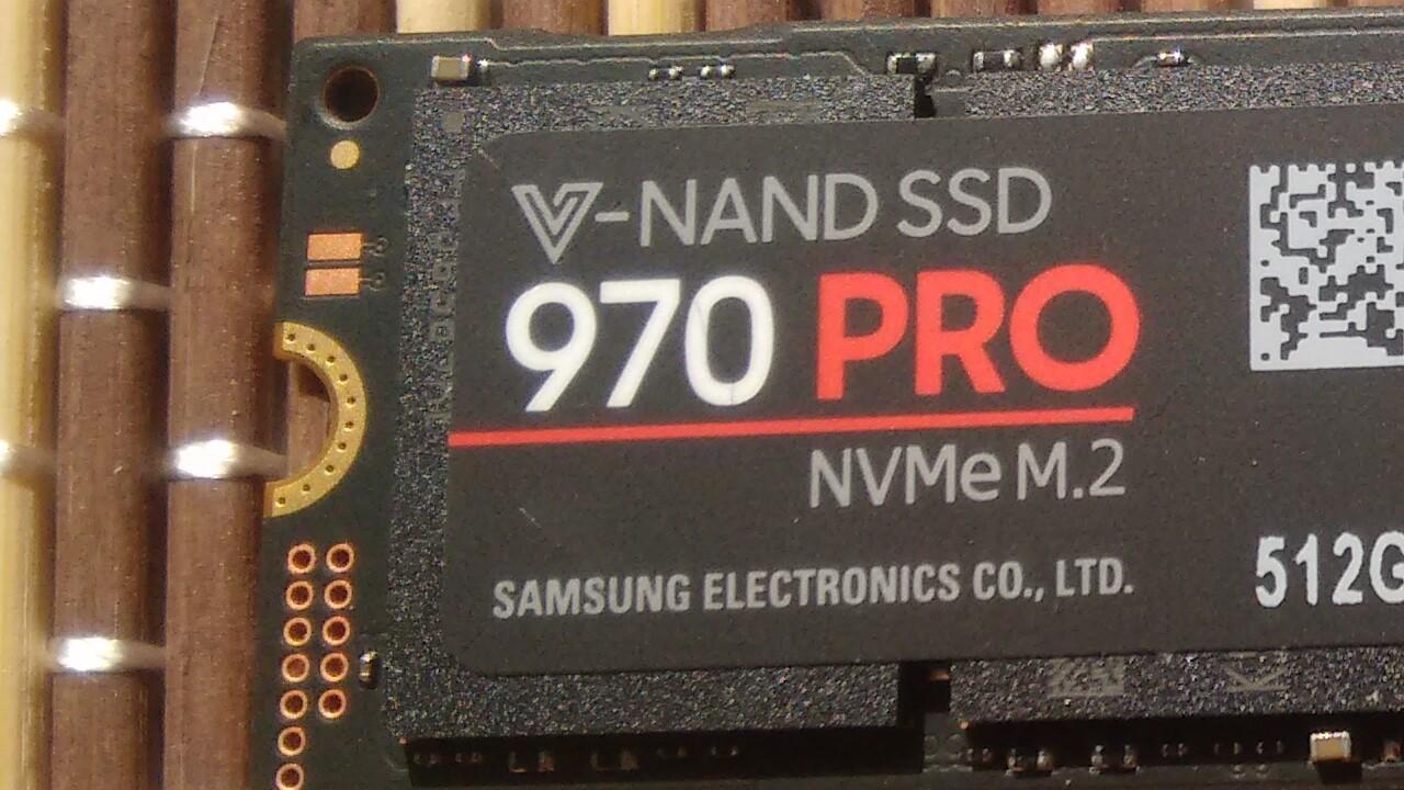 Neues Modell: Samsung SSD 970 Pro mit 2 TB gesichtet