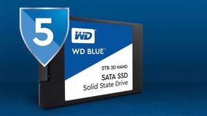 WD Blue 3D NAND SSD: Western Digitals erste 4-TB-SSD für Verbraucher