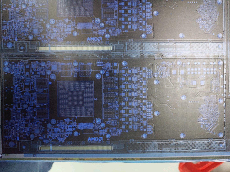 Angebliches PCB für AMD Navi