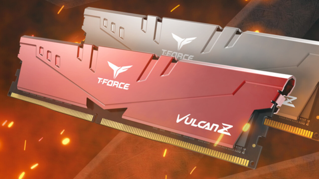 T-Force T1 & T-Force Vulcan Z: DDR4-DIMMs von Team Group ohne LEDs im Budget-Segment