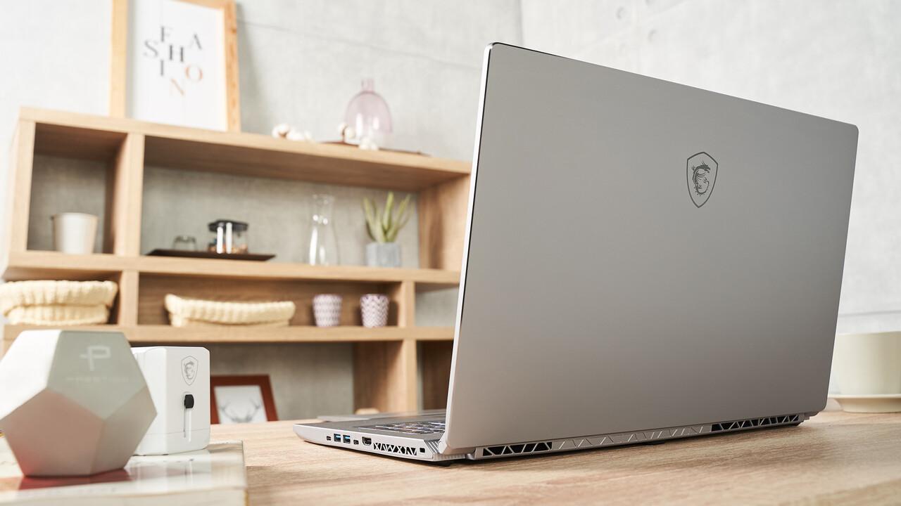 MSI P75 Creator: Gaming-Notebook GS75 wird in Silber zum Arbeitstier