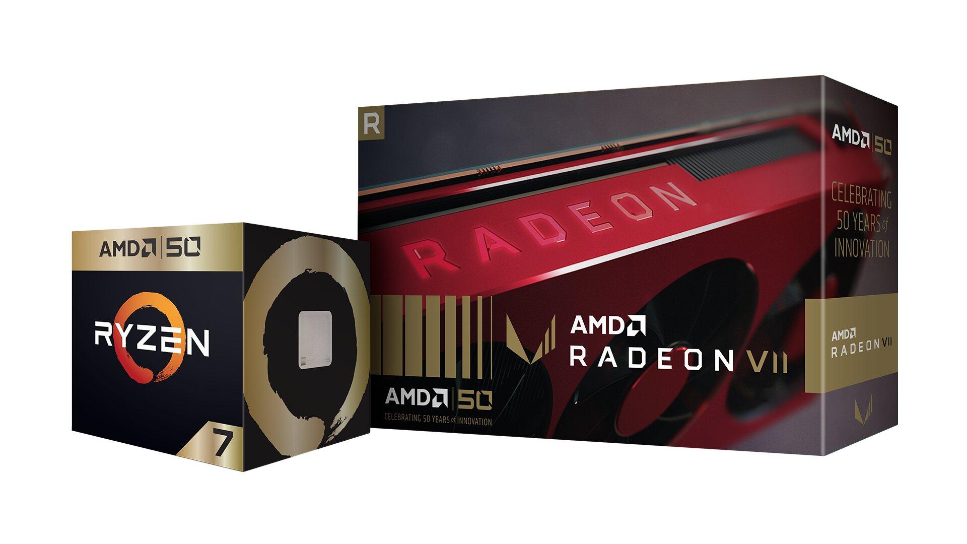 50 Jahre AMD: CPU und GPU als Sonderedition