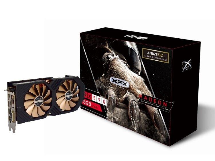 XFX RX 590 8G AMD 50th Anniversary Edition