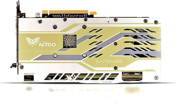 Sapphire Nitro+ Radeon RX 590 8G G5 SE - AMD 50th Anniversary Edition