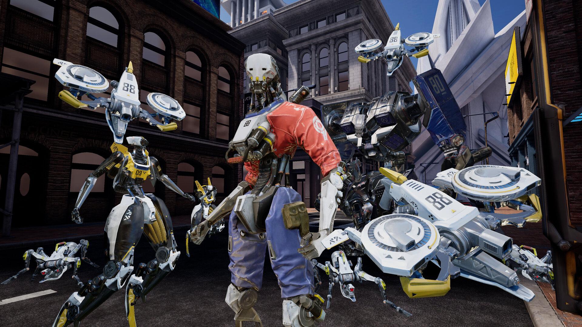Robo Recall auf Oculus Quest