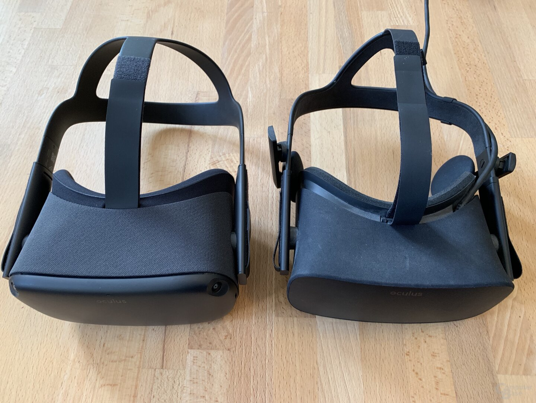 Oculus Quest und Rift im Vergleich