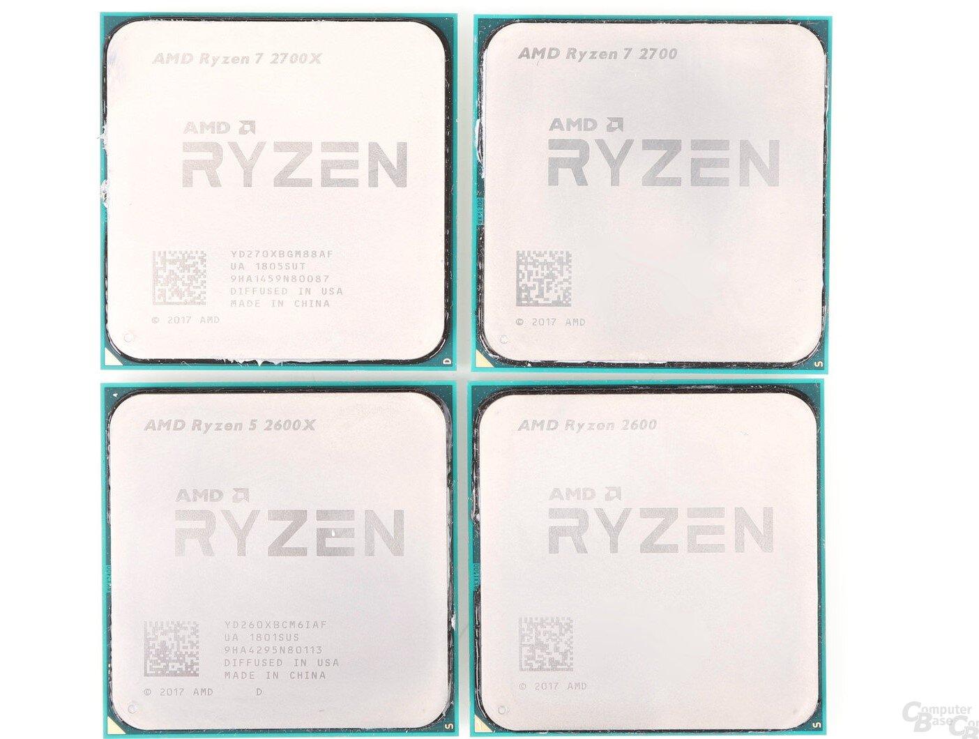 AMD Pinnacle Ridge Ryzen 7 2700X und Ryzen 5 2600X: Das erfolgreiche Comeback