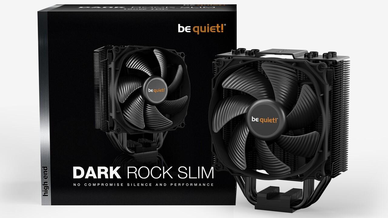 be quiet! Dark Rock Slim: Schmaler Kühler passt neben hohe RAM-Module