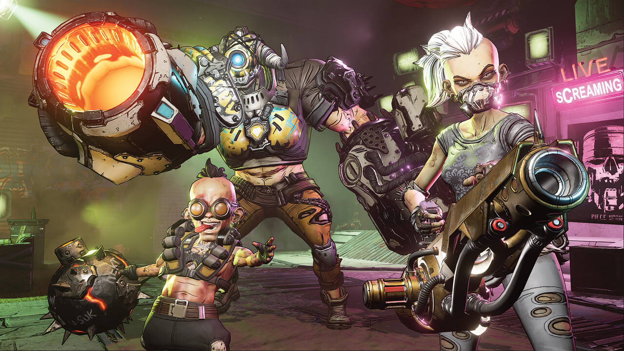 Borderlands 3: Erstes Gameplay mit neuen Huntern im Video