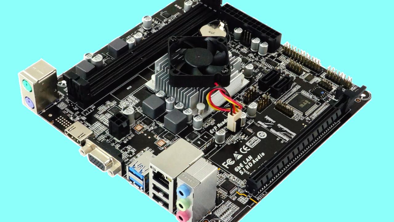 Mainboard mit SoC: Biostar A68N-5600E in Mini-ITX mit alter AMD-PRO-APU