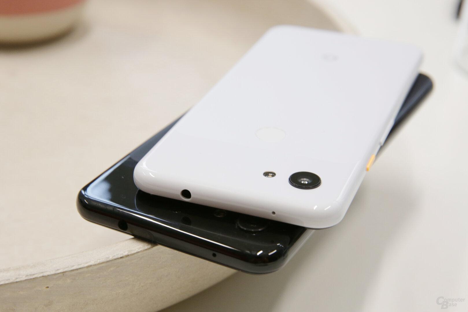 Die Kopfhörerbuchse ist mit dem Pixel 3a zurück