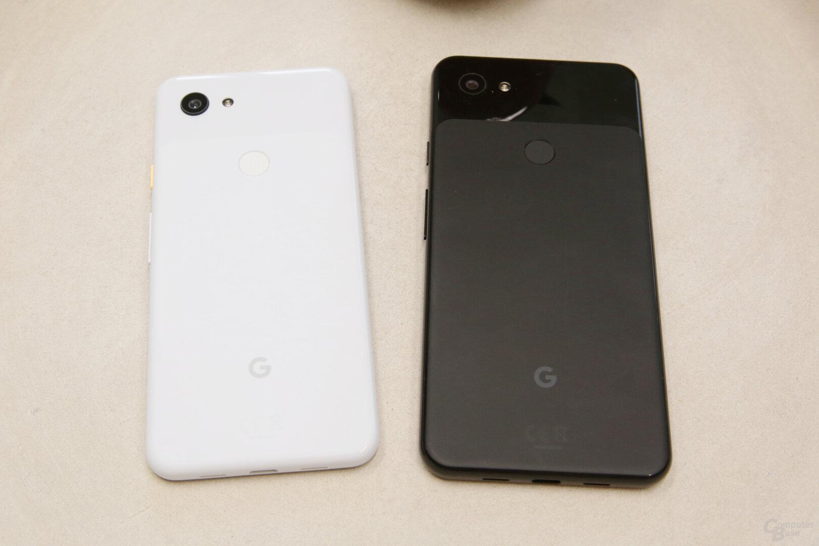 In Weiß und Schwarz kommt das Pixel 3a nach Deutschland