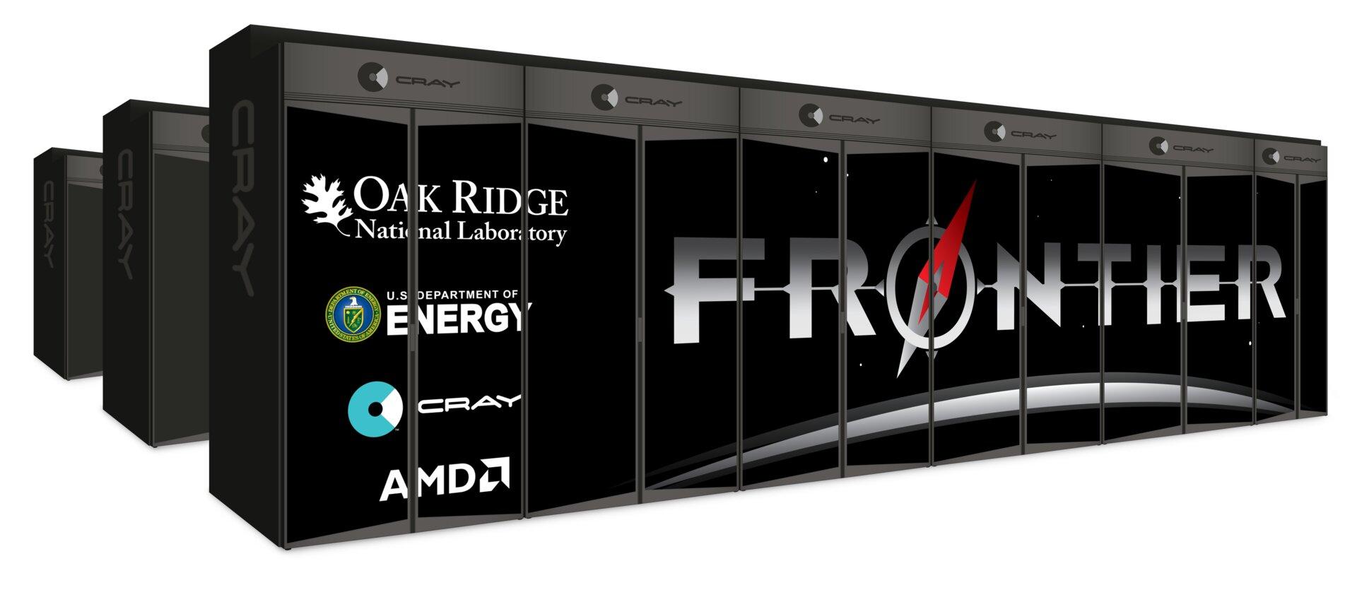 Frontier: Exascale-Supercomputer Frontier mit Chips von AMD