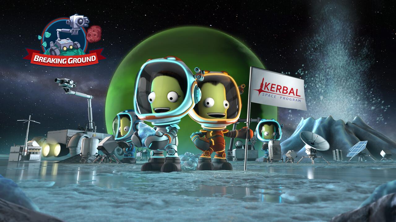 Breaking Ground: Kerbal Space Program erhält zweiten DLC Ende Mai