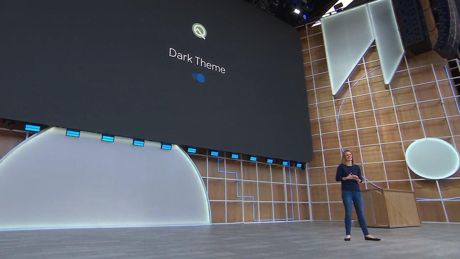 Neuer Dark Theme für Android 10