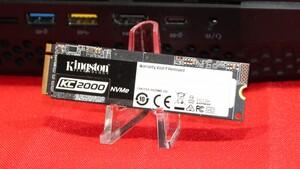 Kingston KC2000: NVMe-SSD mit 3.200 MB/s und 96L-Flash kommt im Mai