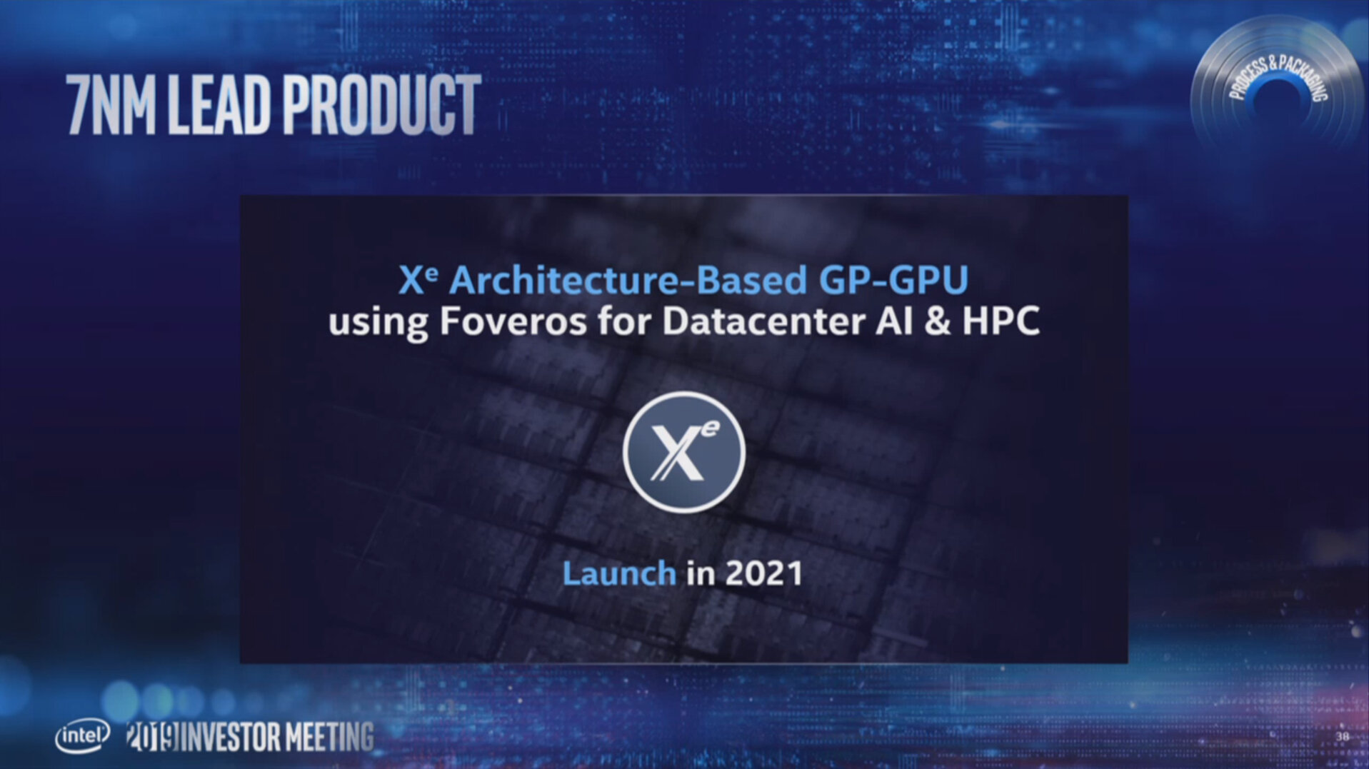 Xe-GPU in 7 nm kommt 2021