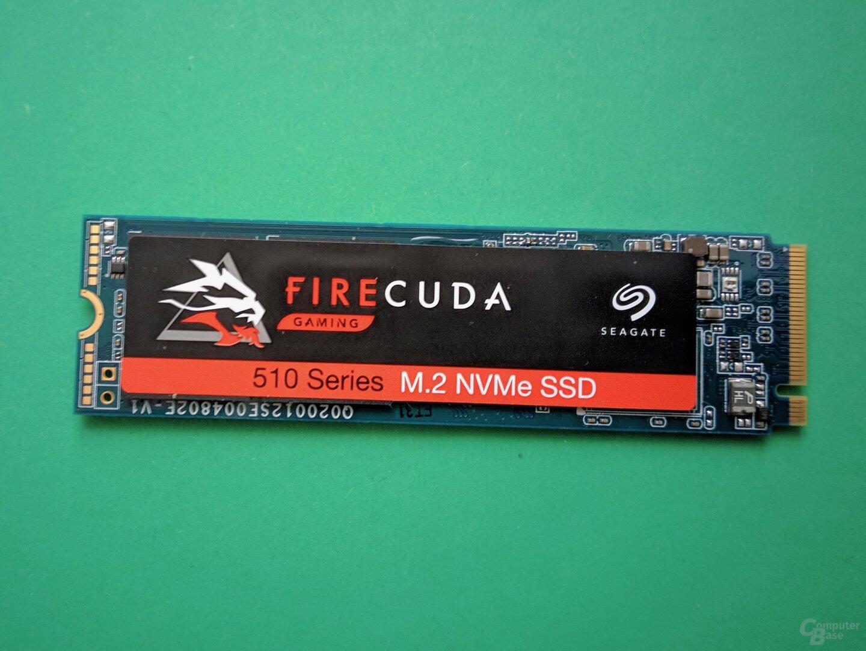 Die Seagate FireCuda 510 SSD mit 2 TB im Test