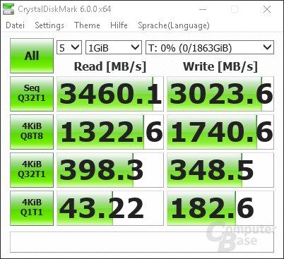 CrystalDiskMark: Seagate FireCuda 510 SSD Random